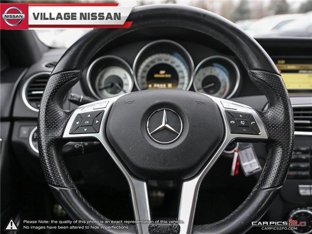 2012 Mercedes-Benz C-Class Base (Stk: 80925A) in Unionville - Image 14 of 27