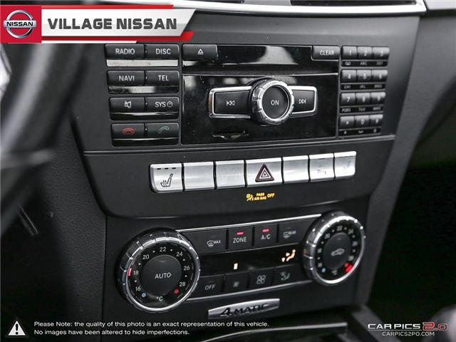 2012 Mercedes-Benz C-Class Base (Stk: 80925A) in Unionville - Image 20 of 27