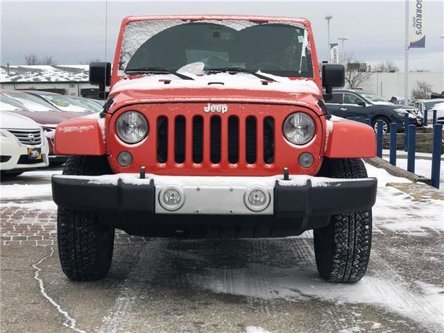 2015 Jeep Wrangler Unlimited Sahara (Stk: 637251) in Milton - Image 2 of 14