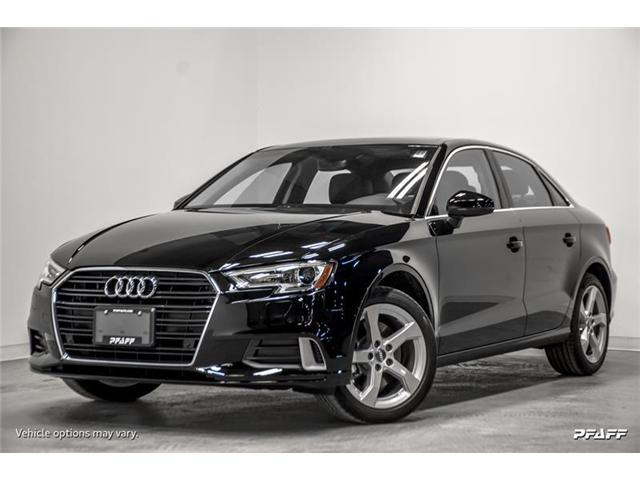 2019 Audi A3 40 Komfort (Stk: T16132) in Vaughan - Image 1 of 16