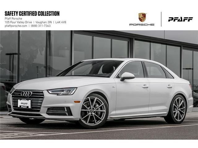 2017 Audi A4 2.0T Technik quattro 7sp S tronic (Stk: U7629) in Vaughan - Image 1 of 22