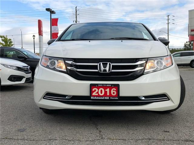 2016 Honda Odyssey SE (Stk: 181218P) in Richmond Hill - Image 2 of 18