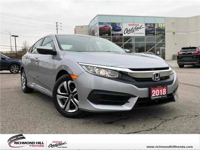 2018 Honda Civic LX (Stk: 2067P) in Richmond Hill - Image 1 of 20