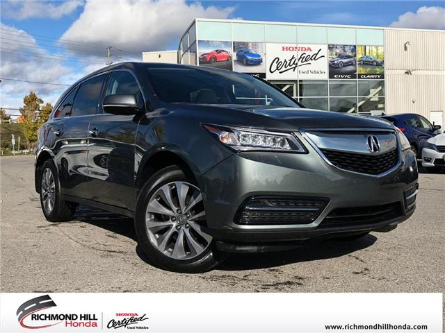 2016 Acura MDX Navigation Package (Stk: 2043P) in Richmond Hill - Image 1 of 27