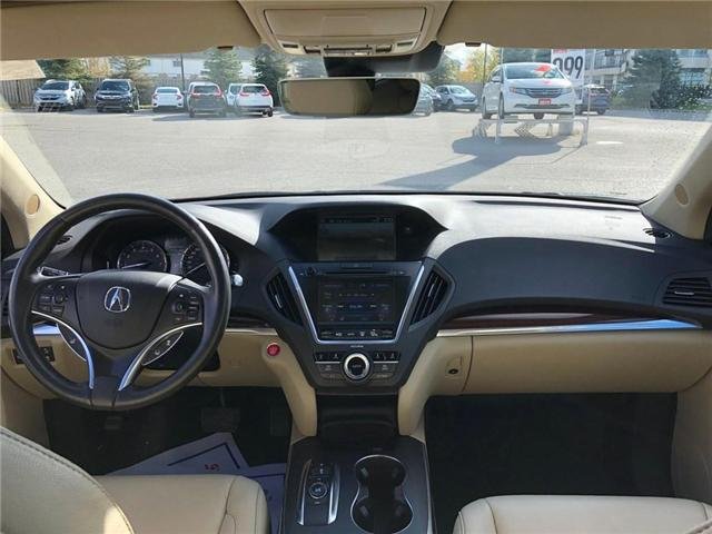 2016 Acura MDX Navigation Package (Stk: 2043P) in Richmond Hill - Image 6 of 27