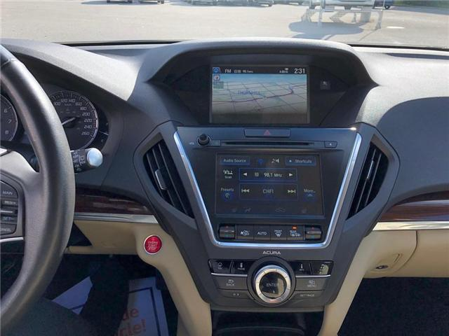 2016 Acura MDX Navigation Package (Stk: 2043P) in Richmond Hill - Image 14 of 27