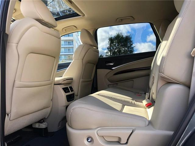 2016 Acura MDX Navigation Package (Stk: 2043P) in Richmond Hill - Image 19 of 27
