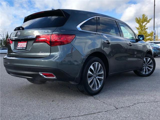 2016 Acura MDX Navigation Package (Stk: 2043P) in Richmond Hill - Image 24 of 27