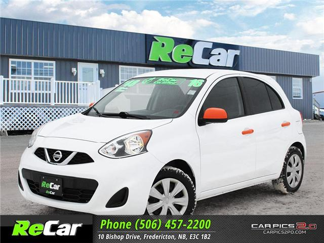 2016 Nissan Micra SV (Stk: 181422A) in Fredericton - Image 1 of 25