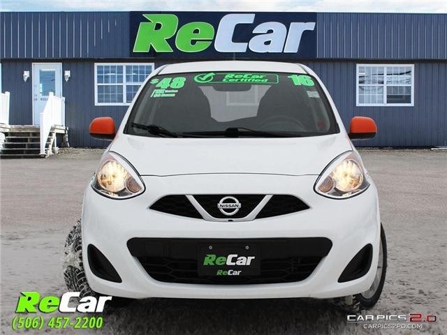 2016 Nissan Micra SV (Stk: 181422A) in Fredericton - Image 2 of 25