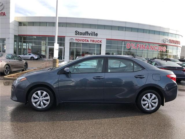 2016 Toyota Corolla LE (Stk: P1682) in Whitchurch-Stouffville - Image 2 of 19
