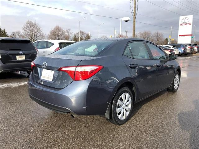 2016 Toyota Corolla LE (Stk: P1682) in Whitchurch-Stouffville - Image 5 of 19