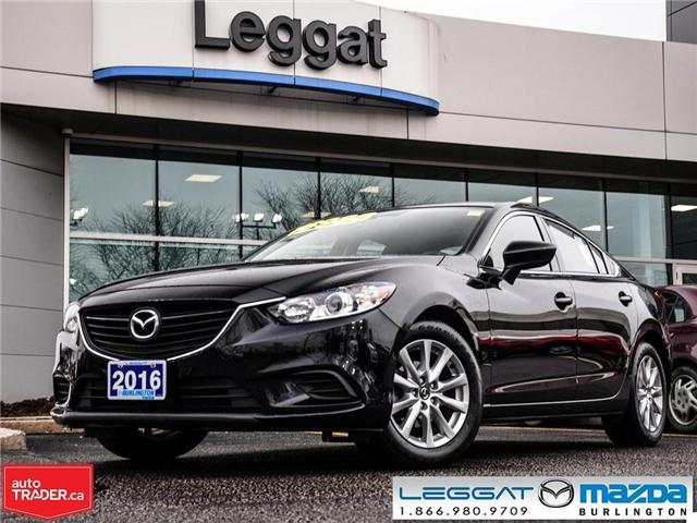 2016 Mazda MAZDA6 GS-L AUTOMATIC, NAV, LEATHER, MOONROOF (Stk: 1745) in Burlington - Image 1 of 23