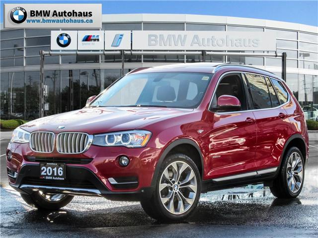2016 BMW X3 xDrive28i (Stk: P8734) in Thornhill - Image 1 of 27