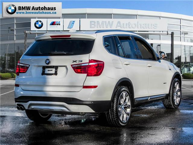 2015 BMW X3 xDrive28i (Stk: P8740) in Thornhill - Image 5 of 27