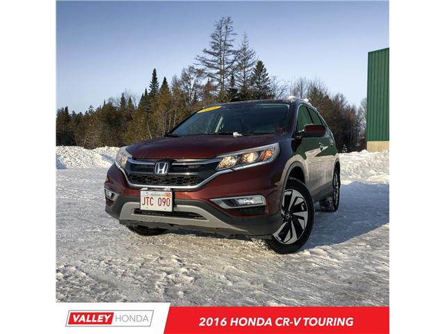2016 Honda CR-V Touring (Stk: U01401) in Woodstock - Image 1 of 6