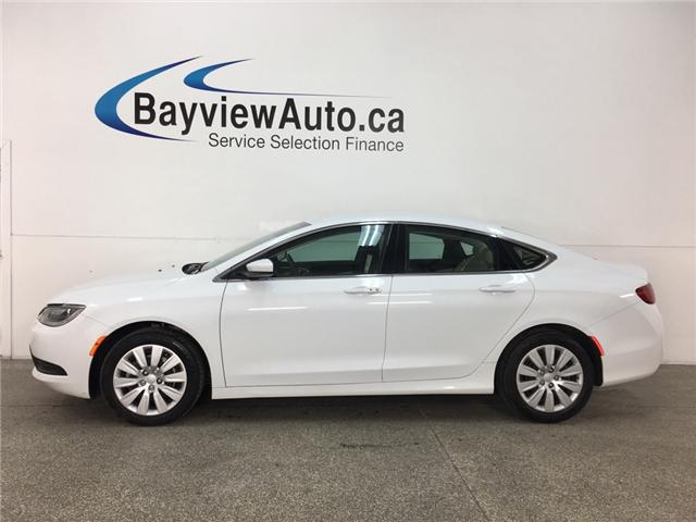 2016 Chrysler 200 LX (Stk: 33799J) in Belleville - Image 1 of 26