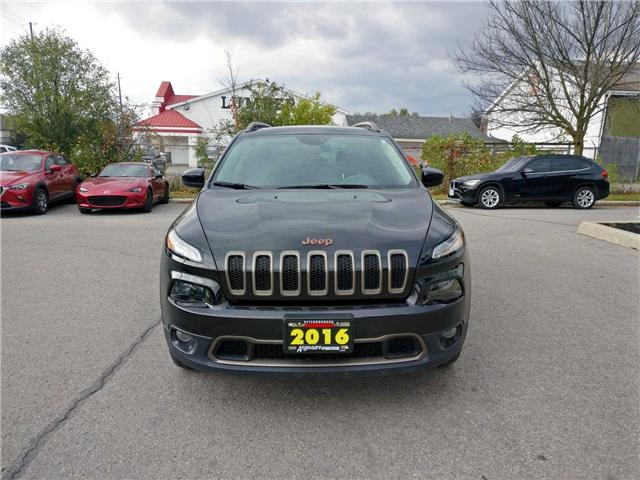 2016 Jeep Cherokee Sport (Stk: I7426A) in Peterborough - Image 2 of 23