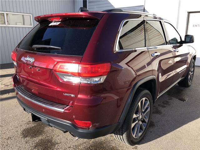 2017 Jeep Grand Cherokee Limited (Stk: 10448) in Fort Macleod - Image 6 of 24