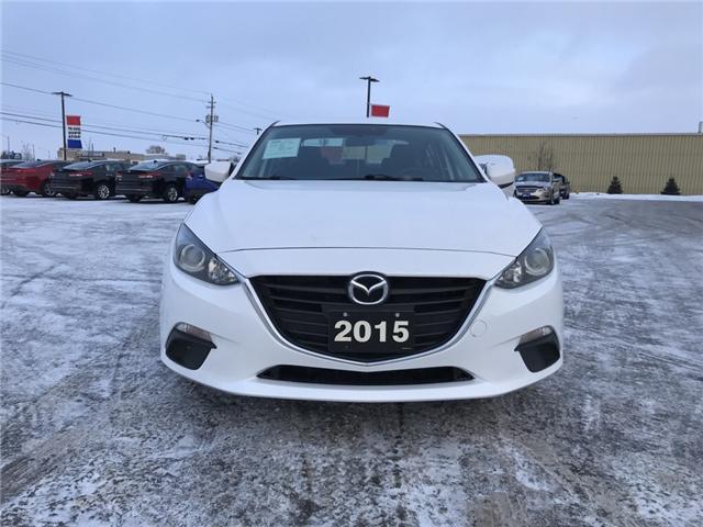 2015 Mazda Mazda3 GX (Stk: 18700) in Sudbury - Image 2 of 10