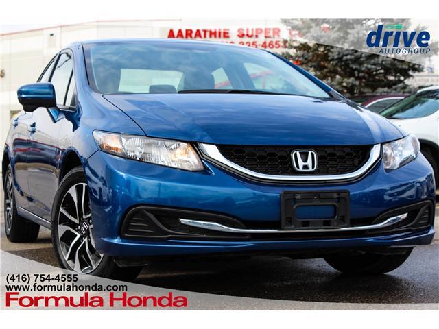 2015 Honda Civic EX (Stk: B10877) in Scarborough - Image 1 of 29