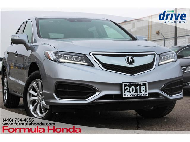2018 Acura RDX Base (Stk: B10881) in Scarborough - Image 1 of 28