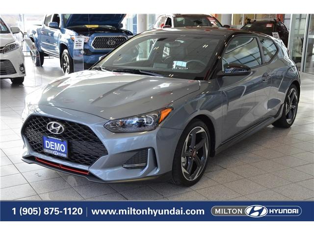 2019 Hyundai Veloster Turbo Tech (Stk: 004919) in Milton - Image 1 of 33