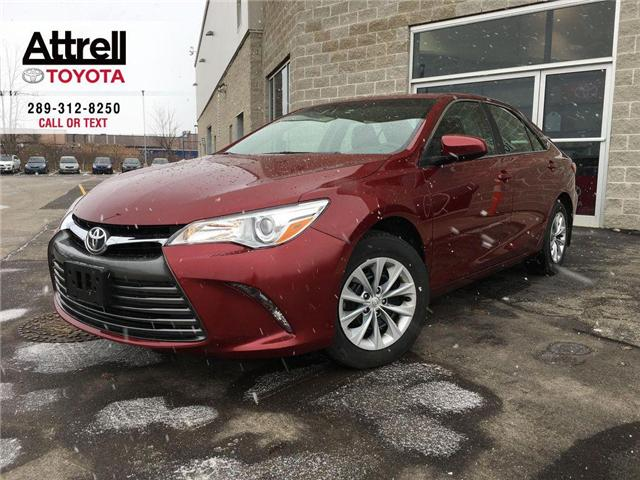 2017 Toyota Camry LE KEYLESS, BACK CAMERA, BLUETOOTH, ABS, 1 OWNER,  (Stk: 43081A) in Brampton - Image 1 of 25