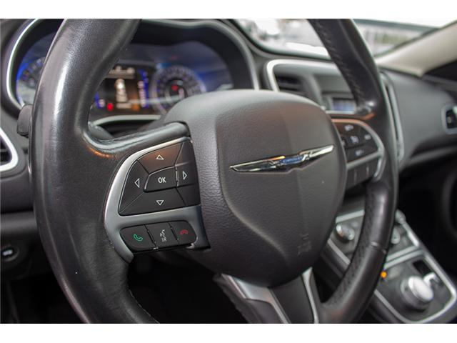 2015 Chrysler 200 Limited (Stk: EE896890A) in Surrey - Image 19 of 25