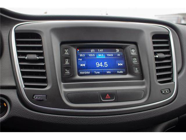 2015 Chrysler 200 Limited (Stk: EE896890A) in Surrey - Image 22 of 25