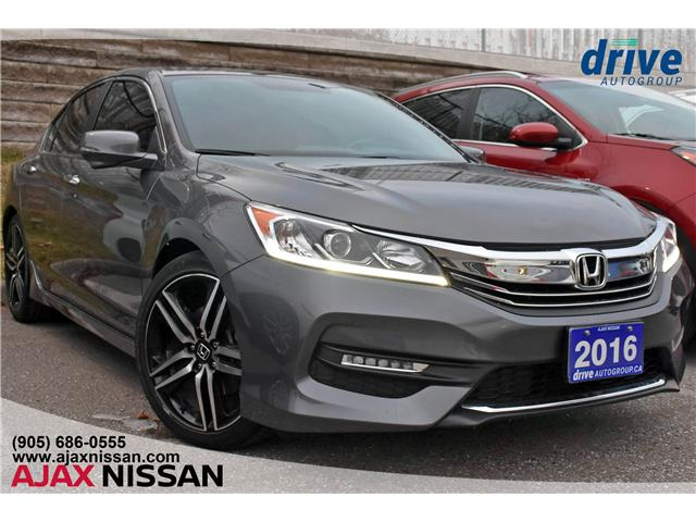 2016 Honda Accord Sport (Stk: T148A) in Ajax - Image 1 of 28