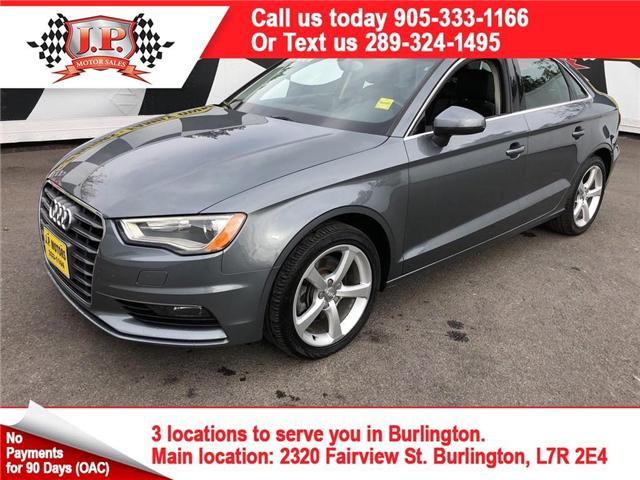 2015 Audi A3  (Stk: 45317) in Burlington - Image 1 of 5