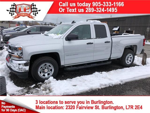 2016 Chevrolet Silverado 1500 Work Truck (Stk: 45449) in Burlington - Image 1 of 25