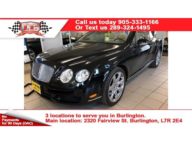 2007 Bentley Continental GT Navigation, Leather, AWD, Convertible, 51, 000km (Stk: 35220) in Burlington - Image 1 of 21