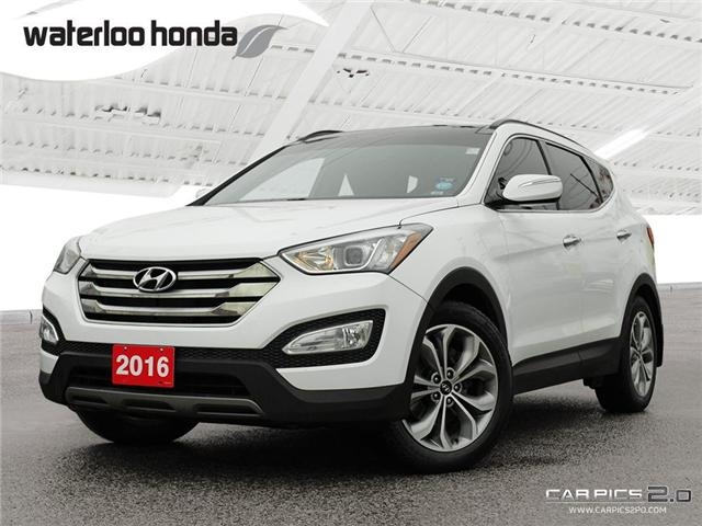 2016 Hyundai Santa Fe Sport 2.0T Limited (Stk: H4816A) in Waterloo - Image 1 of 28