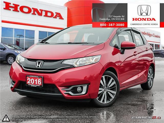 2016 Honda Fit EX (Stk: 19375A) in Cambridge - Image 1 of 27