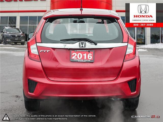 2016 Honda Fit EX (Stk: 19375A) in Cambridge - Image 5 of 27