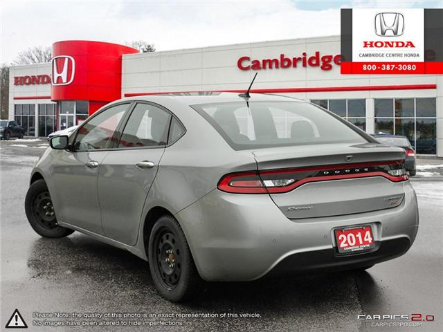 2014 Dodge Dart Limited (Stk: 19299A) in Cambridge - Image 4 of 27