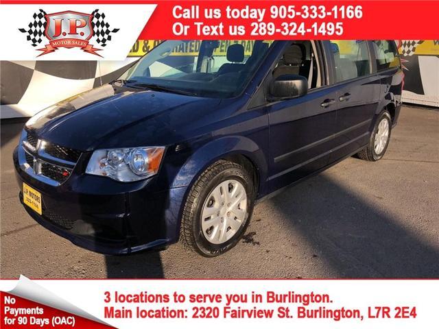 2016 Dodge Grand Caravan SE/SXT (Stk: 45798) in Burlington - Image 1 of 12