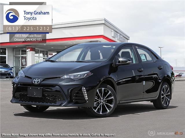 2019 Toyota Corolla SE Upgrade Package (Stk: 57772) in Ottawa - Image 1 of 23