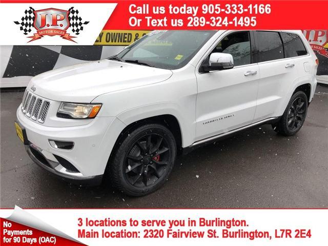 2014 Jeep Grand Cherokee Summit (Stk: 45885) in Burlington - Image 1 of 26