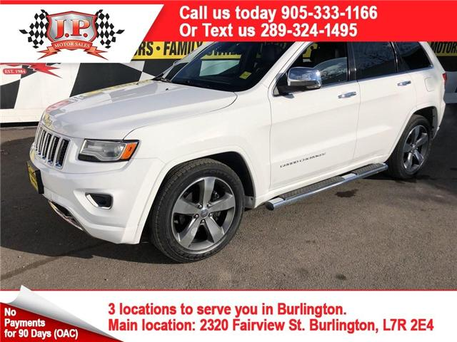 2015 Jeep Grand Cherokee Overland (Stk: 45882) in Burlington - Image 1 of 27