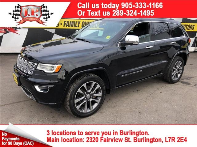 2017 Jeep Grand Cherokee Overland (Stk: 45893) in Burlington - Image 1 of 26