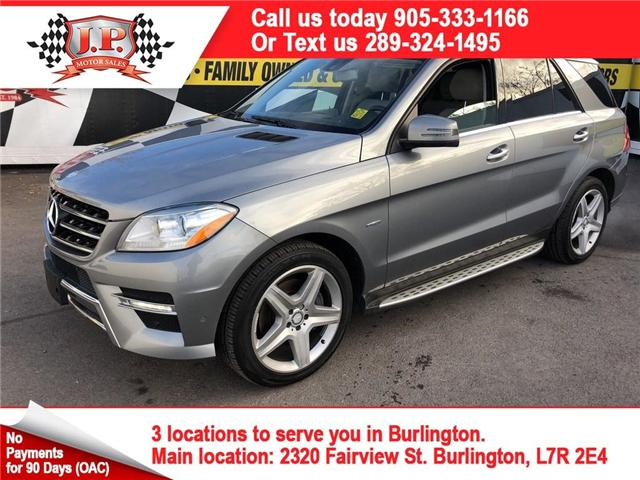 2012 Mercedes-Benz M-Class Base (Stk: 45906) in Burlington - Image 1 of 15