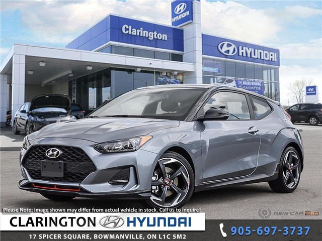 2019 Hyundai Veloster Turbo Tech (Stk: 18967) in Clarington - Image 1 of 24
