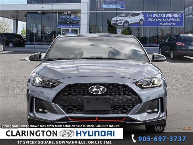2019 Hyundai Veloster Turbo Tech (Stk: 18967) in Clarington - Image 2 of 24