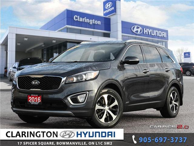 2016 Kia Sorento 2.0L EX (Stk: U808) in Clarington - Image 1 of 27
