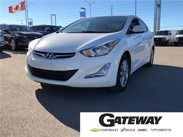 2016 Hyundai Elantra GL|SPORT PACKAGE|HEATED SEATS|SUNROOF| (Stk: PA17406A) in BRAMPTON - Image 1 of 15
