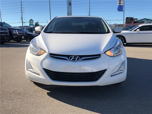 2016 Hyundai Elantra GL|SPORT PACKAGE|HEATED SEATS|SUNROOF| (Stk: PA17406A) in BRAMPTON - Image 2 of 15