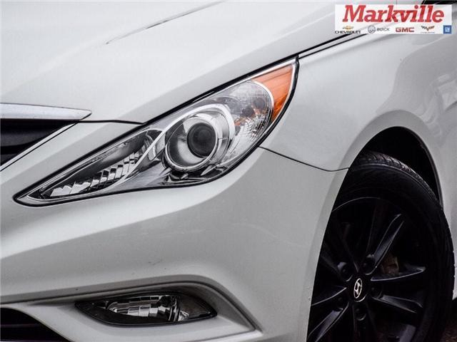 2013 Hyundai Sonata GLS-4 NEW TIRES-CERTIFIED PRE-OWNED-1 OWNER TRADE (Stk: 178602A) in Markham - Image 7 of 25